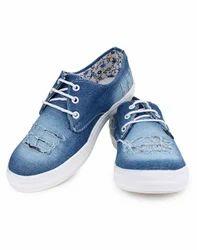 V1 Enterprises Girls Blue Lace Up Casual Shoes, Size: 10