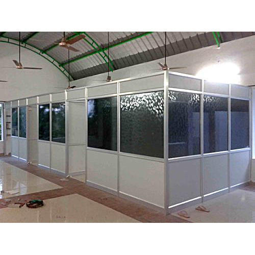 Aluminium Aluminum Partition Rs 185 Square Feet Nibedita