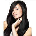 30 Inch Natural Black Remy Human Hair Extension with 6 Clips