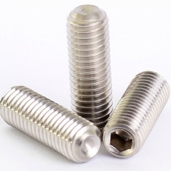 Cup Point Grub Screw, Size: M4 To M20