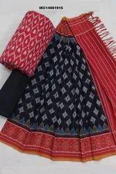 Ikkat Cotton Salwar Suits