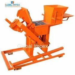 Manual Interlock Soil Brick Making Machine