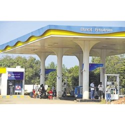 Petrol Pump Canopy - Petrol Station Canopy Latest Price