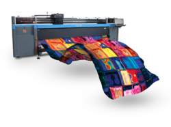Automatic Multicolor Digital Fabric Printing Machine