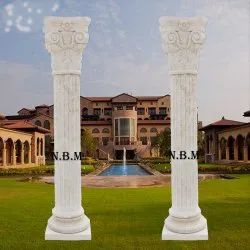 Natural Marble Column