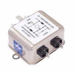 RFI/EMI AC Single Phase Chasis Mounting Filter 15 Amp