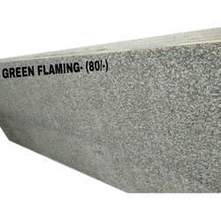 RR Granites Green Flaming Granite Slab, for Flooring