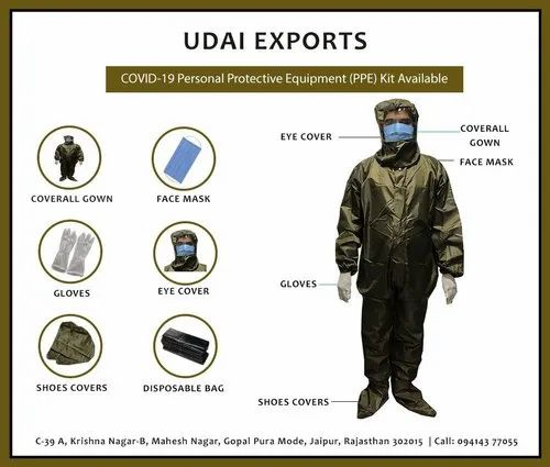 Disposable Personal Protective Equipment (PPE)Kit