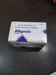 Aceclofenac 100mg & Paracetamol 325mg For Hospitals,nursing Homes & Doctors