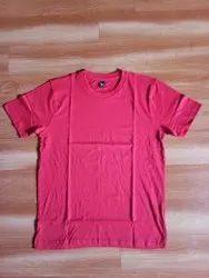 Half sleeve Black Mens Cotton T-Shirt