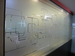 Printed Glass Film For Cabins And Doors