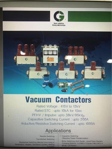 Crompton Greaves 3-Phase Vacuum Contactor MVC-400