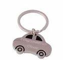 Car Shape Metal Keychain