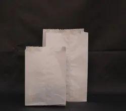 Plain White Paper Pouch