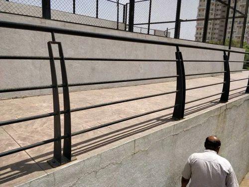 MS Balcony Railing, एमएस बालकनी रेलिंग at Rs 110 /square ...
