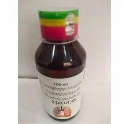 Dextromethorphan Hydrobromide, Chlorpheniramine Phenylephrine Hydrochloride Syrup(EDICOF-D)