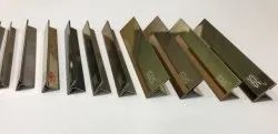 SDS Brand Stainless Steel T Profile for Inlay, Interior Decorations