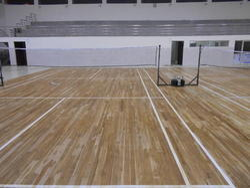 KTL Rebo Wood Sports Flooring Service