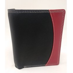 Twin Color Leather Wallet