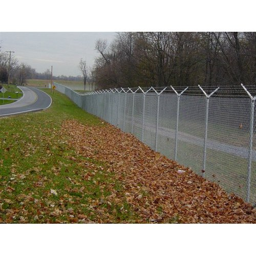 Low Carbon Steel Commercial And Garden Chain Link Fencing, Packaging : Roll