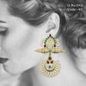 Ethnic Chandbali Earrings