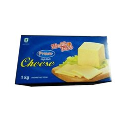 Prem High Melt Pizza Mozzarella Cheese, Packaging Size: 1 Kg, Packaging Type: Box