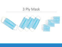 Super Disposable 3 Ply Mask