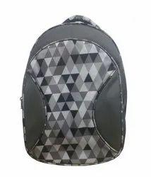 Caris 18 Checks Backpack Bag Grey