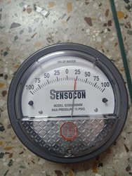 Sensocon Mack USA Magnehelic Gages -100 To 100 MMWC