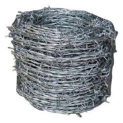 Stainless Steel Barbed Fencing Wire, Size: 12 Gauge And 14 Gauge