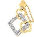 Unique Diamond Pendant 3.70 Grams