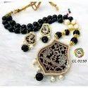 Jaipuri Thewa Fashion Jewelry Traditional Necklace Set