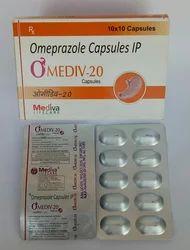 Omeprazole 20 Mg Capsule