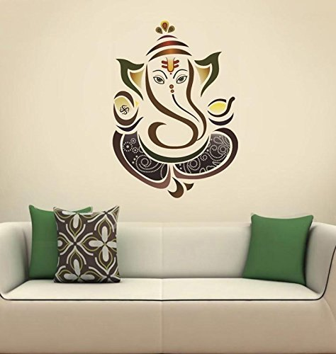 Ganesh Wall Sticker Wall Art For Living And Kids Room Decor