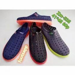 Footsapp Mens Slip On Rain Shoes, Size