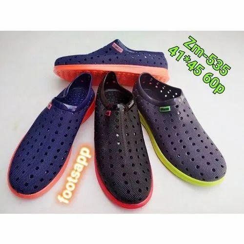 14e34f1e60d42 Mens Slip On Rain Shoes