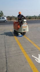 Battery Operated Ride On Sweeping Machine