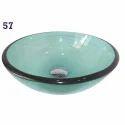 Round Glass Wash Basin