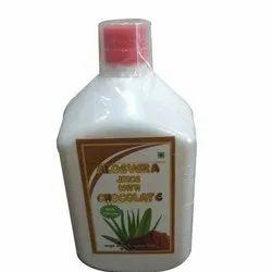 Aloe Vera Juice With Chocolate Flavour
