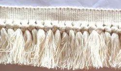 Beige Thread Fringe