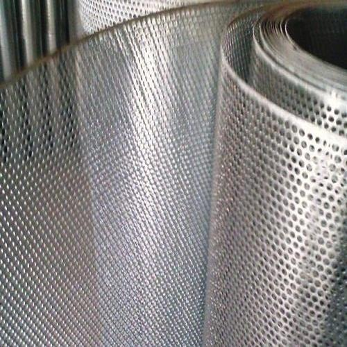 Perforated Anodized Aluminum Sheets Size 2000 X 6000 Mm