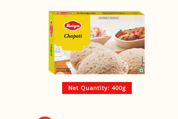 Chapati - View Specifications & Details of Processed Food by Maiyas