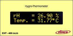 Hygro Thermometer Model No.EHT-400-OLED