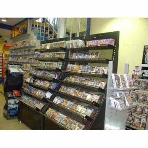 Wall Display Racks for CD\'s & DVD