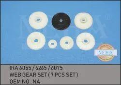 Web Gear Set ( 7 Pcs Set ) IRA 6055 / 6265 / 6075