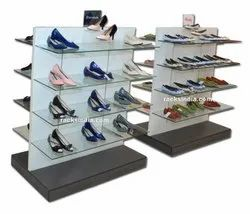 Centre Display Rack For Shoes