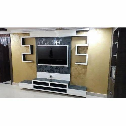 0ffca3bd81 Modern TV Wall Unit, Length: 6.5 Feet, Width: 18 Inch, Rs 35000 ...