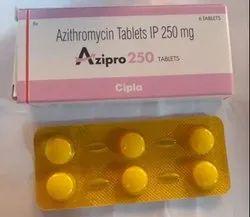 Azipro 250 Mg Azithromycin Tablets