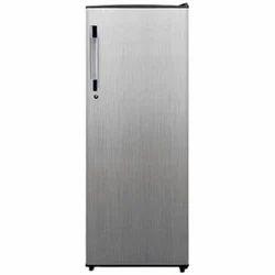 Metallic Silver Stainless Steel Videocon Single Door Refrigerator, 310ltr ,Number of Shelves: 5