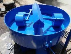Castable  pan mixer machine